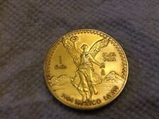 1994  Libertad 1 Onza Winged Victory 1 oz .999 fine silver with 24k gold gilded