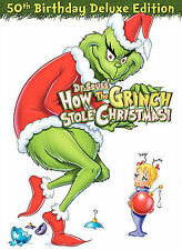 How the Grinch Stole Christmas (DVD, 2006, 50th Birthday Deluxe Edition)