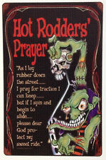 RAT ROD HOT ROD STREET ROD  DECAL STICKER CHOPPER HOT RODDERS PRAYER