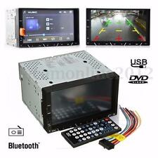 Bluetooth 7'' HD LCD Display Car Stereo Radio Dash MP3 AV Player Touch Screen