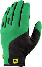 Mavic Crossmax Full Finger MTB Glove Green Black Large L Brand New - Retail $50
