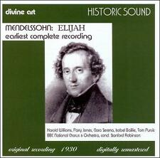 Mendelssohn: Elijah Earliest Complete Recording, New Music