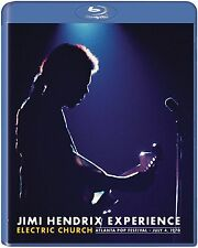 JIMI HENDRIX EXPERIENCE Electric Church BLURAY in Inglese NEW .cp