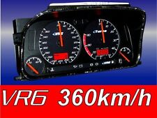 Golf 3 VR6 Tacho 360km / 9000Umin Turbo