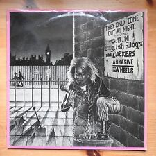 They Only Come Out at Night - GBH English Dogs Lurkers ++ LP vinyl (1985) punk