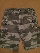 Pair Of Men's Bench Army Style Shorts