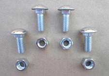 OLD SCHOOL STAINLESS STEEL BUMPER BOLTS/NUTS! FORD 1975 & UP CARS/TRUCKS! 2425N
