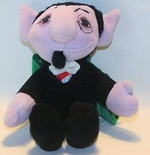 1997 Tyco Sesame Street Beans THE COUNT -Jim Henson Beans & Plush 8""