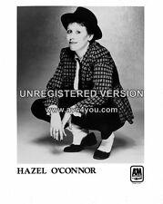 "Hazel OConnor 10"" x 8"" Photograph no 4"