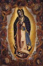 LA VIRGEN DE GUADALUPE - ART POSTER - 22x34 CHRIST CATHOLIC VIRGIN 2382