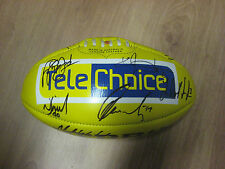 SYDNEY TEAM HAND SIGNED YELLOW FOOTBALL  + PHOTO PROOF & C.O.A