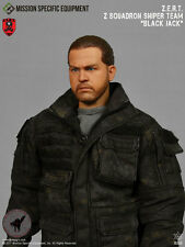 1/6 Action Figure Toy MSE ZERT Urban Sniper Grey Tee Shirt Doll Size XP4-31
