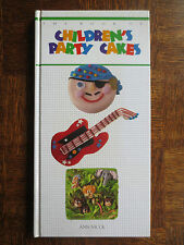 Cookery Book CHILDREN's PARTY CAKES Baking Decorating Icing Ann Nicol Recipes