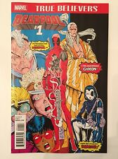New Mutants #98 True Believers #1 edition Deadpool