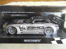 MINICHAMPS MERCEDES BENZ SLS AMG GT3 TEAM AMG CHINA LIMITED 1 OF 1200 1:18