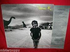 TONIO K Notes from the lost civilization LP 1988 USA First Pressing MINT- Inner