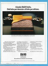 AIRONE982-PUBBLICITA'/ADVERTISING-1982- B&B ITALIA - ALANDA