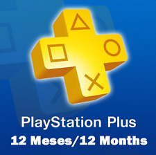 12 MESES/12 MONTHS PSN PLAYSTATION PLUS | PS4 | SIN RIESGO | WARRANTY | 24H |