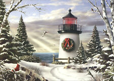 Sailing On By - Box of 18 Alan Giana Christmas Cards by LPG Greetings