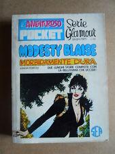 L'Avventuroso Pocket MODESTY BLAISE - Serie Glamour n°3 1975 ed. SEA [G404]