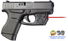ARMALASER TR5 GLOCK 43 GLOCK 42 SUPER-BRIGHT 635nm LASER WITH GRIP ACTIVATION