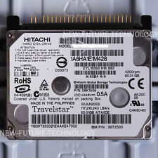"HITACHI 60 GB HDD 1.8"" 4200 RPM IDE HTC426060G9AT00 Hard Disk Drives For Laptop"