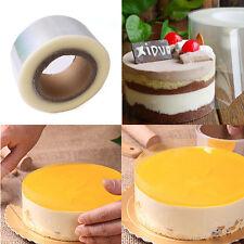200M Plastic Mousse Cake Transparent Membrane Baking Surrounding Edge Tape Tool