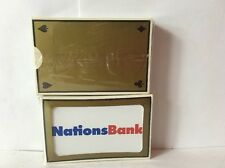 2 Gemaco Bridge Nations Bank Plastic Deck Playing Cards New