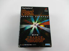 Rez Special Package Playstation 2 Japan Ver PS2
