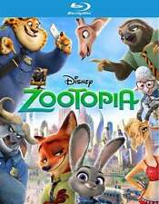 Zootopia (3D Blu-ray disc, No regular Blu-ray or DVD, 2016)