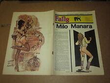 FANZINE DI FUMETTI NERBINI FANG OTTOBRE 1984 MONOGRAFICO SU MILO MANARA