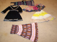 GIRLS MIXED CLOTHES - JUNIOR SIZE S/M - CASUAL DRESSES, SKIRTS AND SHIRT
