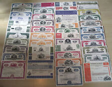4,000 RARE OLD US STOCKS 100 x 40 DIF @ 17.5c! 1-TIME WAREHOUSE LIQUIDATION SALE