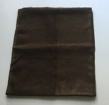 Loro Piana Brown Large Scarf Stole 100% Auth NWOT