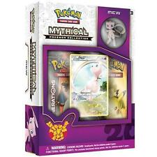 POKEMON Mew Mythical Collection Pin Box 20th Anniversary Generations Packs NEW