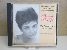 ANNA MOFFO - The Early Years 1956-1960 CD -Live Performances