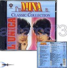 "MINA ""L'UNICA - CLASSIC COLLECTION"" RARO CD RITA PAVONE MILVA - SIGILLATO"