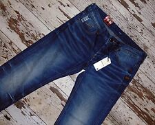 NEW G-STAR JEANS ATTACC LOW STRAIGHT SIZE 31/32 W31 L32 NWT