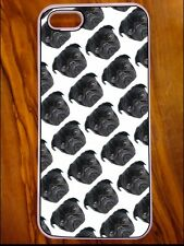 New IPhone 5/5s Case, Cute Pug Design. Christmas Gift For Dog Lover