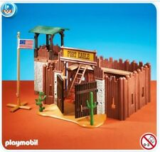 Retired Rare Playmobil 7936 Small Fort Western FORT EAGLE Set New Factory Sealed