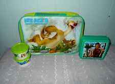 Tupperware Ice Age 3 Dawn of the Dinosaur Lunch Set~New