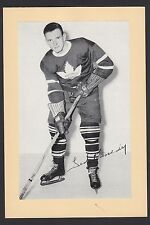 1945-1964 Beehive Group II 2 Hockey Teeder Ted Kennedy Toronto Maple Leafs HOF