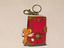2001 Clamp Kodansha Card Captor Sakura Key chain ring Clow Book Kero