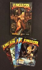 JUNGLE GIRL Season 2 #1 - 5 Comic Books + JUNGLE GIRL HC Book Frank Cho Sexy
