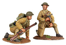 "BRITAINS SOLDIERS WW1 1914 BRITISH INFANTRY ""MOVE UP""  2 PIECE MILITARY 23073"