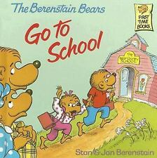 The Berenstain Bears Go to School-ExLibrary