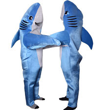 Animal Whale Shark Mascot Costume Material Fancy Dress Adult Cosplay Blue Outfit
