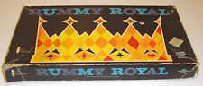 Vintage Rummy Royal Whitman Card Poker Chip Game W/Rare Black Box No. 4969