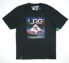 NEW LIFTED RESEARCH GROUP BLACK LRG FIREWORKS LOGO PREMIUM FIT S/S T-SHIRT SZ XL