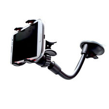 Portable 360° Car Phone Telephone Holder Suction GPS Navigation Holder Black New